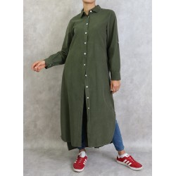 Military Green Solid Color...