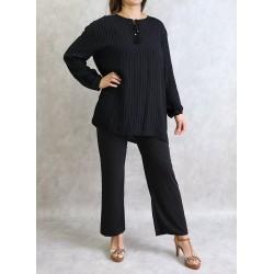 Women's tunic with thin...
