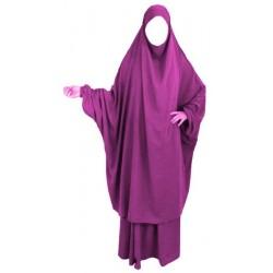 Jilbab adult 2 pieces -...
