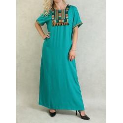 Long short-sleeved dress...
