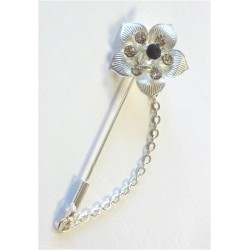 Silver pin for Hijab in the...