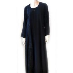 Black abaya with matching...