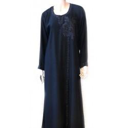 Black abaya with black...