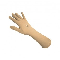 Pair of beige gloves for...