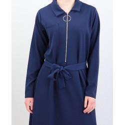 Robe longue fermeture zip...