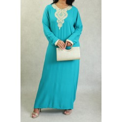 Simple Arabic dress with...