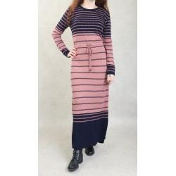 Women's striped knit dress...