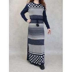 Women's two-tone patterned...