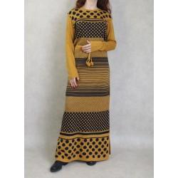 Women's maxi-long knit...