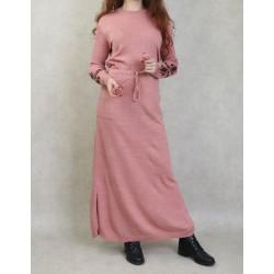 Long fine knit dress (Fall...