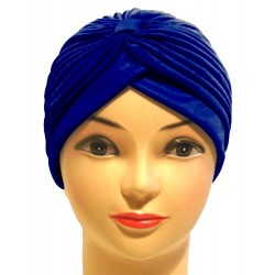 Royal blue style beanie...