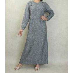Long mottled dress for...