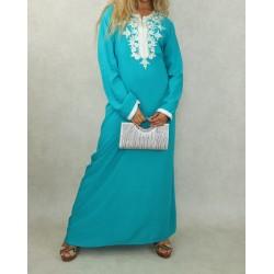 Long oriental dress for...
