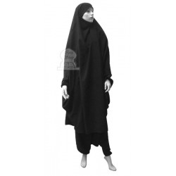 Jilbab two (2) pieces cape...