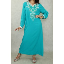 Long oriental cotton dress...