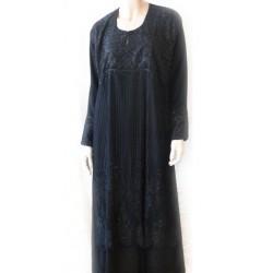 """Black abaya """"Dubai""""..."""