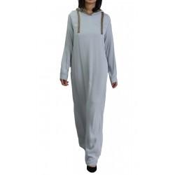 Modern abaya with hood...