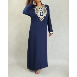 Oriental dress embroidered...