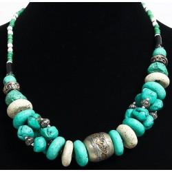 Ethnic necklace imitation...