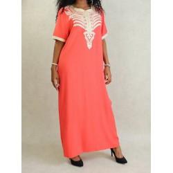 Long oriental dress...