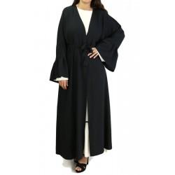 Kimono noir avec manches...