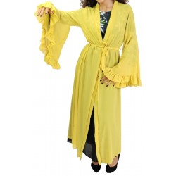 Kimono with bell sleeves...