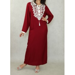 Long embroidered oriental...
