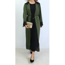 Integrated kimono dress...