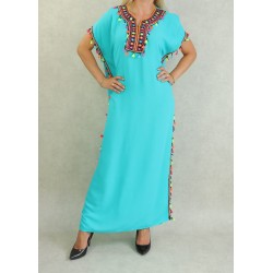 Long oriental dress with...