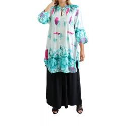 Tsingle Large pattern shirt...