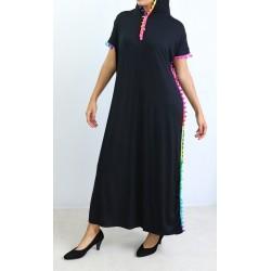 Eastern dress with hood...