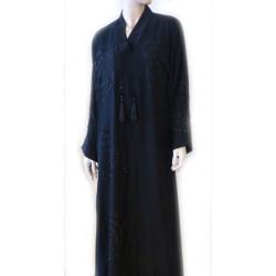 Black abaya with...