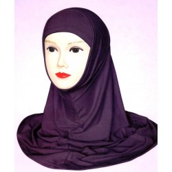 One-piece balaclava hijab...