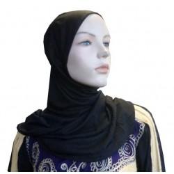 Black hijab one piece...