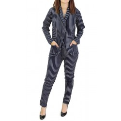 White striped suit (Jacket...