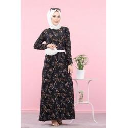 Long floral dress (Vetement...