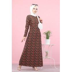 Robe longue à fleurs (Mode...