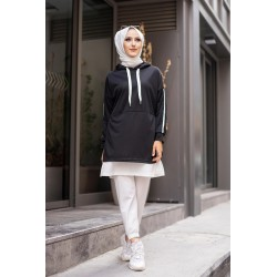 Two-tone sports tunic for...