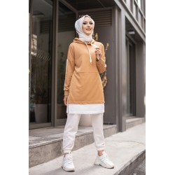 Two-tone tunic for Muslim...
