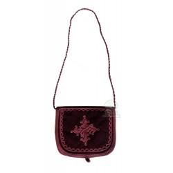 Handcrafted satchel in...