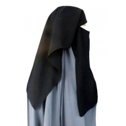 2-piece short niqab with...