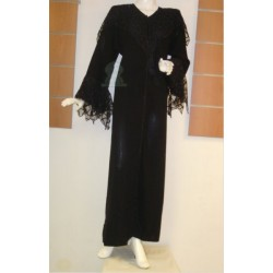 Black abaya for parties...