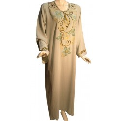 Khaki green Leyla dress...