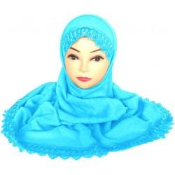 Two-piece hijab with...