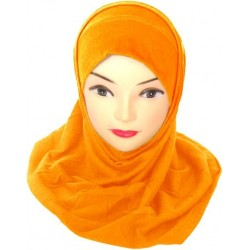 Two-piece cotton hijab...