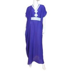 Moroccan Gandoura purple...