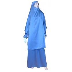 Reversible jilbab (satin /...