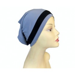 Light blue dressy tube cap...
