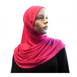 1 piece hijab scarf in pink...
