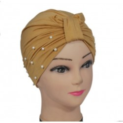 Egyptian beaded hat in...
